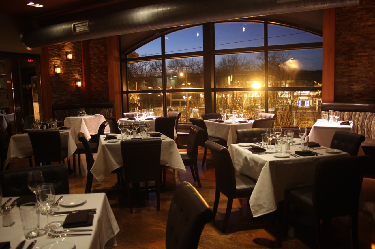 Rails steak house morris county upscale restaurant for Best private dining rooms nj